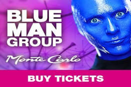 Blue Man Group Show Promotion