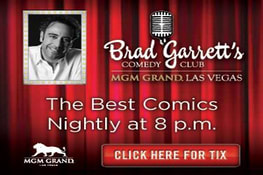 Brad Garrett's Comedy Club Promotion
