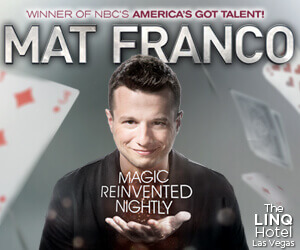 Mat Franco Show Promotion