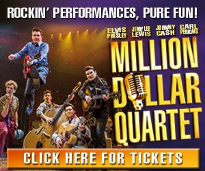 Million Dollar Quartet Show Promotion