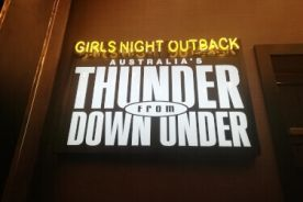 Thunder from Down Under Show Promotion