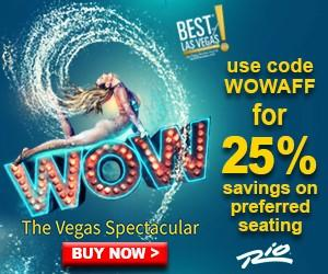 Wow - The Vegas Spectacular Show Promotion